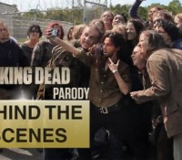 Behind the Scenes:  Walking Dead Parody