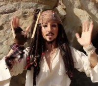 Behind the Scenes:  Pirates of the Caribbean Parody
