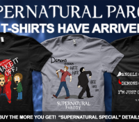 SUPERNATURAL PARODY T-SHIRTS HAVE ARRIVED!