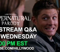ANOTHER LIVE STREAM Q&A COMING!  #SUPERNATURALPARODY