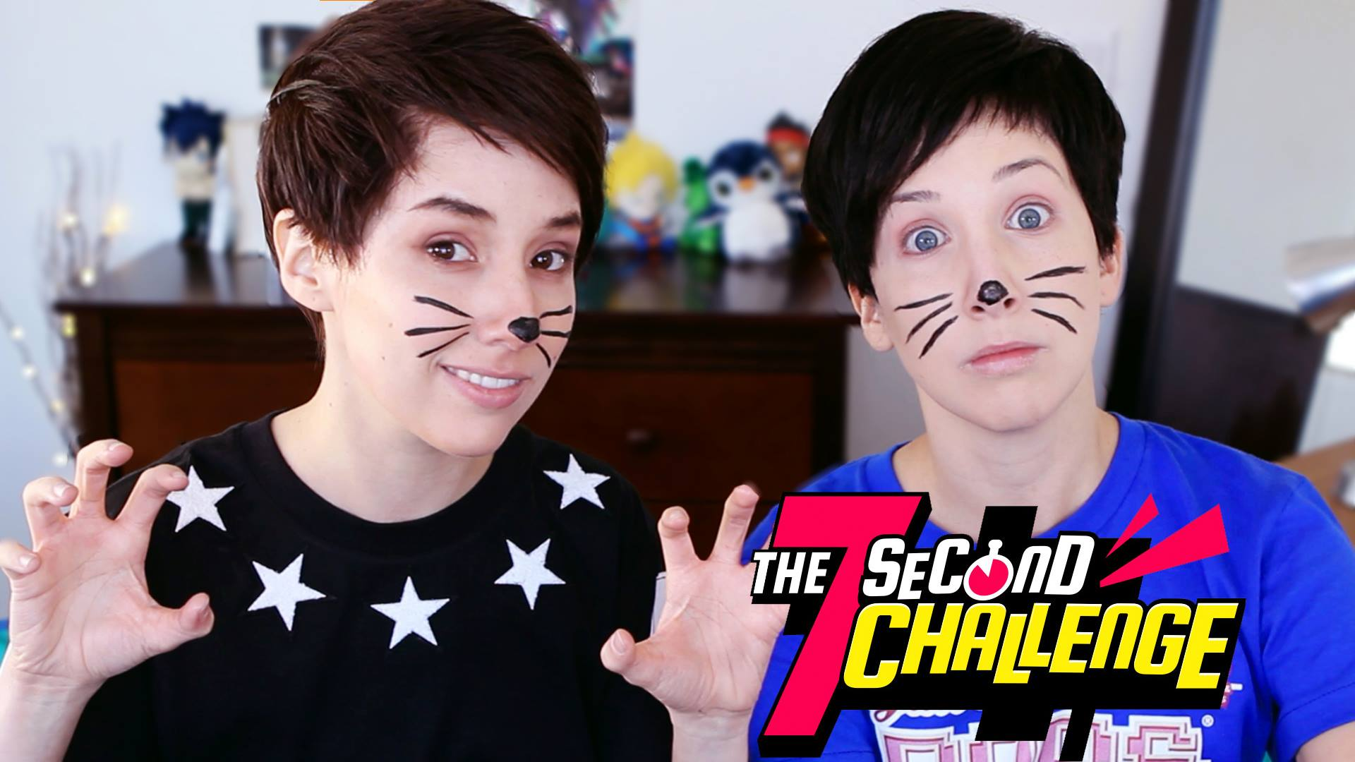 Dan And Phils 7 Second Challenge The Hillywood Show