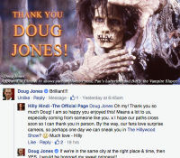 DOUG JONES APPROVES OF #HOCUSPOCUSPARODY!
