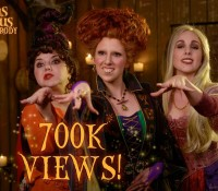 #HOCUSPOCUSPARODY REACHES OVER 700K VIEWS!