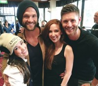 Happy Reunion with the cast of Supernatural!