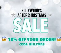 HILLYWOOD'S AFTER CHRISTMAS SALE IS ON!