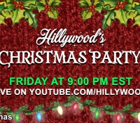 TODAY!  JOIN OUR #HILLYMAS LIVE STREAM!