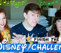 OUR DISNEY CHALLENGE WITH THOMAS SANDERS HAS REACHED OVER 1.1 MILLION VIEWS!