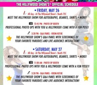 HILLYWOOD'S OFFICIAL SCHEDULE FOR MEGACON IS NOW AVAILABLE!