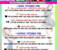 OFFICIAL HILLYWOOD SCHEDULE FOR SLCC!  RSVP!