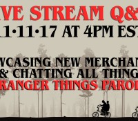 LIVE Q&A – STRANGER THINGS PARODY CHAT