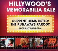 HILLYWOOD MEMORBILIA SALE IS ON!  THE RUNAWAYS PARODY ITEMS FOR SALE!